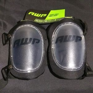 AWP Hard Shell Work Knee Pads NWT